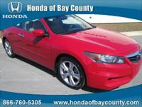 Honda of Bay County presents this 2012 HONDA ACCORD CPE