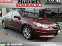 Honda Accord EX CERTIFIED 4dr Sedan-Sunroof-Sharp