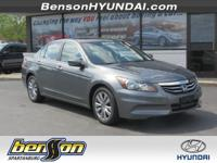 Accord EX 2.4 and 4D Sedan. Gasoline! Switch to Benson