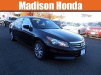2012 HONDA ACCORD EX-L CARFAX One-Owner. Clean CARFAX.