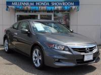 This Honda Certified Accord Cpe 2dr V6 Auto EX-L  has