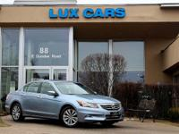 One owner super clean 2012 honda accord ex-l v6 sedan!