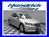 2012 Honda Accord LX CARFAX: 1-Owner, Buy Back