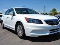 HONDA CERTIFIED CLEAN CARFAX and ONE OWNER . Accord LX