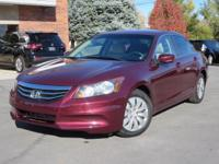 2012 Honda Accord LX. Branded Title. Low Miles!! This
