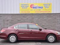 2012 Honda Accord LX  in San Marino Red and ***INCLUDES