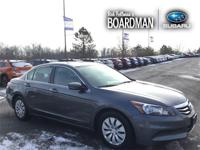 Recent Arrival! Silver 2012 Honda Accord LX 2.4 FWD