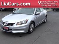 2012 Honda Accord LX. 160-Watt AM/FM/CD Audio System,