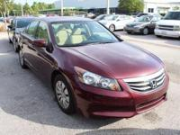 **CLEAN CARFAX** and **LOCAL TRADE**. Accord LX 2.4, 4D