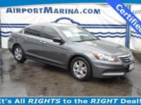Take advantage of this Certified Honda Accord for under