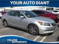 Look at this 2012 Honda Accord Sdn LX Premium. Its
