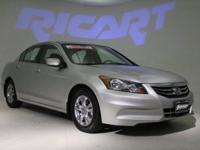 2012 Honda Accord SE and 1 Owner Clean Carfax. Here it