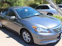 2012 Honda Accord SE 2.4 FWD 5-Speed Automatic with