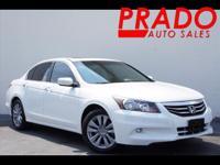 CarFax 1-Owner This 2012 Honda Accord Sdn EX-L V6