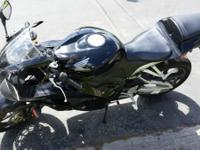 This is a 2012, like brand-new CBR 600RR that I have