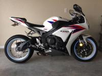 2012 Honda CBR 1000, 1879 miles, 1 Owner, Garage Kept,
