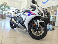 We simply traded for this CBR1000RR on a vehicle sale.