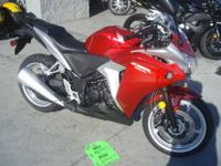 Plus because its a Honda the CBR250R is packed with