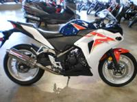 Plus since its a Honda the CBR250R is loaded with