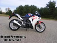 For Sale 2012 Honda CBR250R, come in and see this great