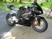 2012 Honda CBR600RR. All black 2012 CBR 600rr. Single