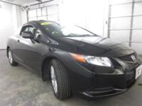 This Pre-Owned 2012 Honda Civic Coupe with the ECON