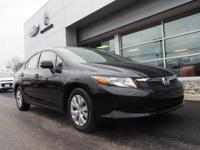 THIS 2012 HONDA CIVIC IS A VERY NICE LOACL TRADE IN