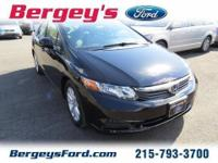 2012 Honda Civic EX Sedan 4DExt. Color: BlackStock: