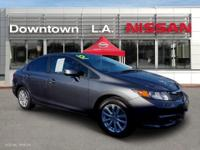 ~ ~ 2012 Honda Civic EX-L ~ ~ CARFAX: 1-Owner, Buy Back