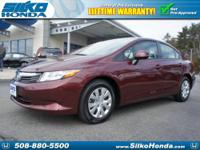 Come to Silko Honda! Call and ask for details! This