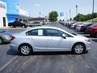 2012 Honda Civic 4 Dr Sedan LX Our Location is: Roper