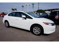 ~~ 2012 Honda Civic LX ~~ CARFAX: 1-Owner, Buy Back
