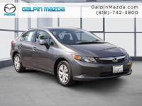 2012 Honda CIVIC 4DR LX 4DR SEDAN LX Our Location is:
