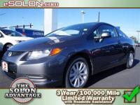 2012 Honda Civic Cpe 2dr Car EX Our Location is: Dave