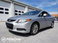 Clean CARFAX. Polished Metal 2012 Honda Civic EX FWD
