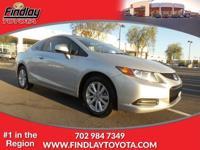 ~ 2012 Honda Civic EX ~ CARFAX: Buy Back Guarantee,