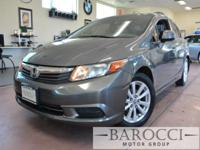 Options:  2012 Honda Civic Ex 4Dr Sedan|5 Speed