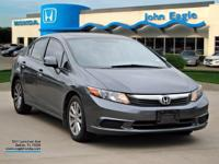 New Price!  Clean CARFAX. Civic EX, 5-Speed Automatic,