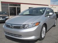 2012 Honda Civic EX-L One owner CARFAX Certified with