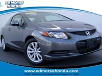 This 2012 Honda Civic Cpe EX-L is offered to you for