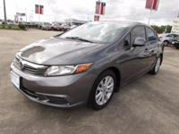 Options:  2012 Honda Civic Ex-L Automatic Sedan|5-Speed