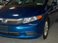 One Owner 2012 Honda Civic EX in Great condition. Under