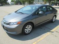 2012 Honda Civic LX, Rebuilt Title, Only 65K Miles.