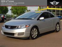 2012 Honda Civic LX 2dr Coupe Coupe Gray I4 1.8L Gas