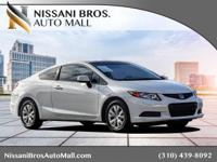 CARFAX One-Owner. Clean CARFAX. White 2012 Honda Civic
