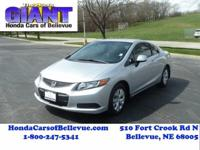Check out this gently-used 2012 Honda Civic Coupe we
