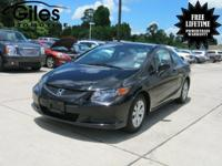 SAVE AT THE PUMP!!! 39 MPG Hwy!! This Civic is for