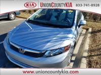Certified. Alloy Wheels, Adult Driven, Union County Kia
