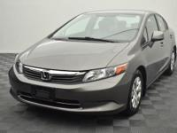 Recent Arrival! 2012 Honda Civic LX CARFAX One-Owner.