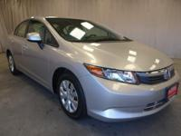 Come see this 2012 Honda Civic LX. Its Automatic